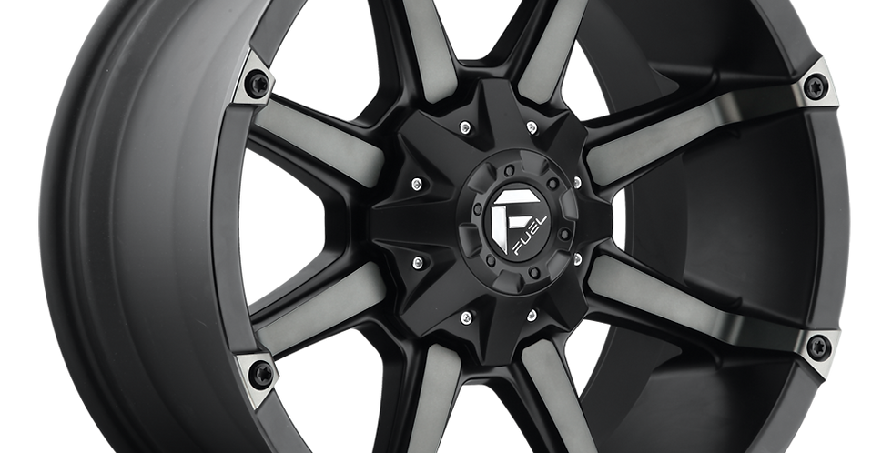 Coupler D556 - Black and Machined w/ Dark Tint