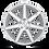 Thumbnail: Verona M179 - Silver w/ Machined Face