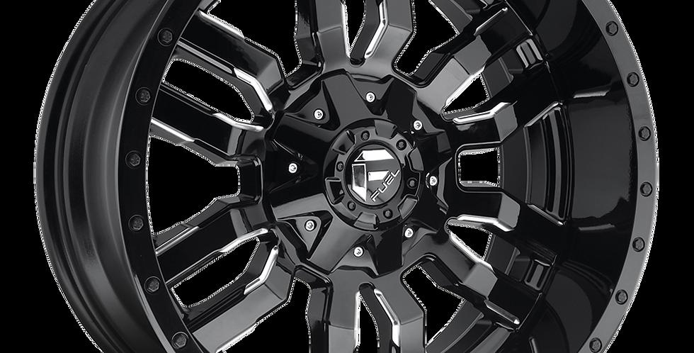 Sledge D595 - Gloss Black & Milled