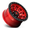 Thumbnail: Covert D695 - candy Red w/ Black Ring