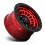 Thumbnail: Zephyr D632 - Candy Red w/ Matte Black Ring