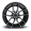 Thumbnail: Targa M130 - Black w/ Machined Face & Dark Tint