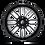 Thumbnail: Ignite D662 - Gloss Black & Milled