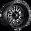 Thumbnail: Stroke D611 - Gloss Black & Milled