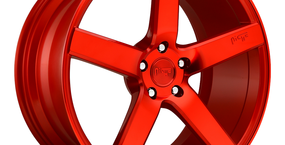Milan M187 - Candy Red