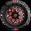 Thumbnail: Stroke D612 - Gloss Black w/ Candy Red