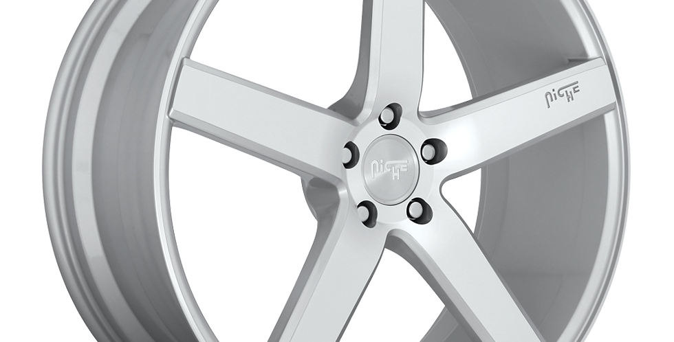 Milan M135 - Silver w/ Machined Face