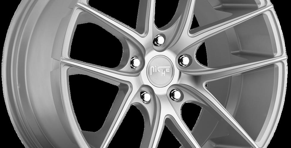 Targa M131 - Silver w/ Machined Face