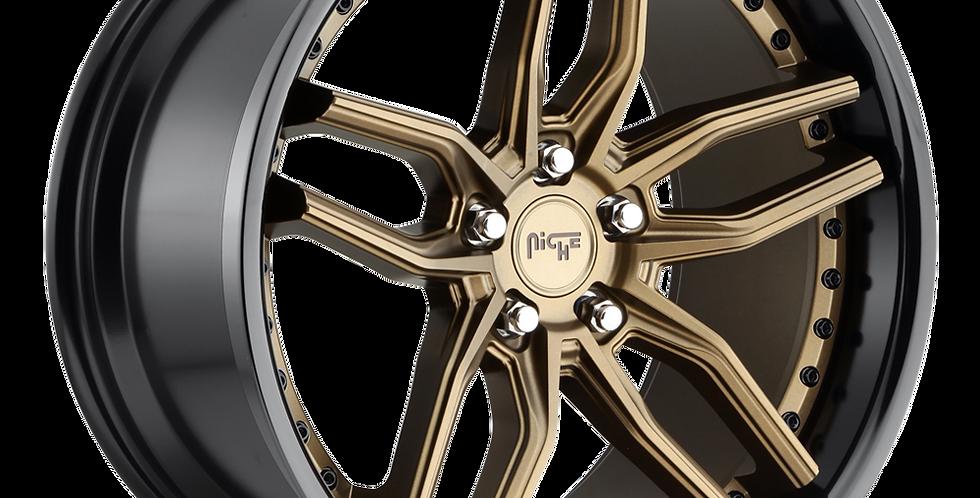 Methos M195 - Bronze w/ Gloss Black lip