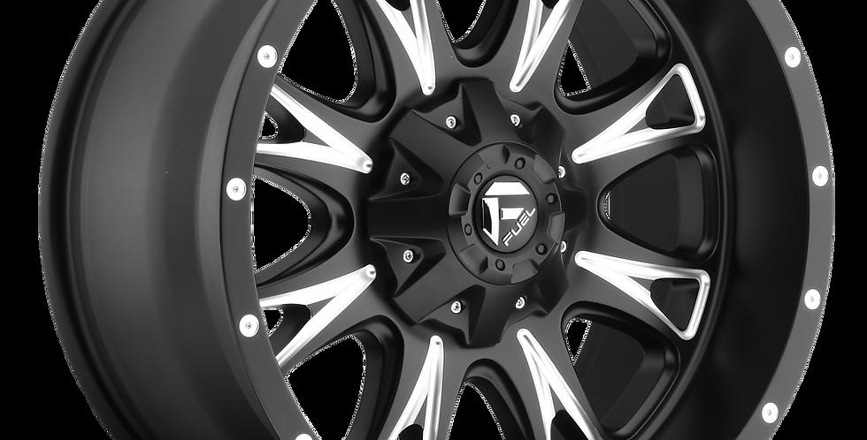 Throttle D513 - Matte Black & Milled