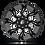 Thumbnail: Lockdown D747 - Gloss Black & Milled