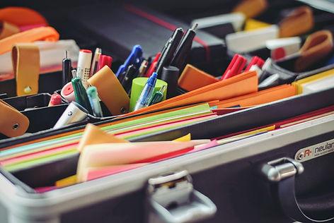Briefcase & office supplies
