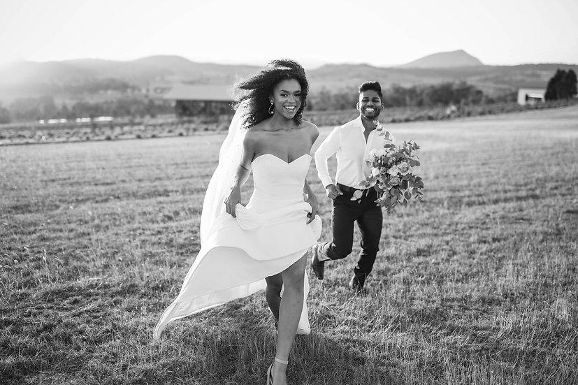 The Leila - Strapless Sweetheart Wedding Dress