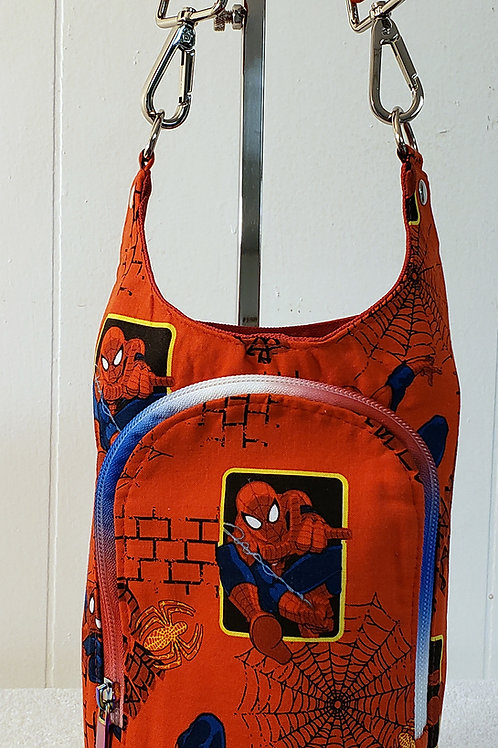 Spidey H20 2 Water Bottle Sling with Built in Wallet