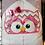 Thumbnail: Owl Girl Hooded Bath Towel