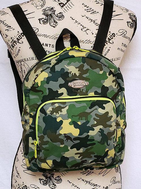 Dinosoar Camo Mini Backpack