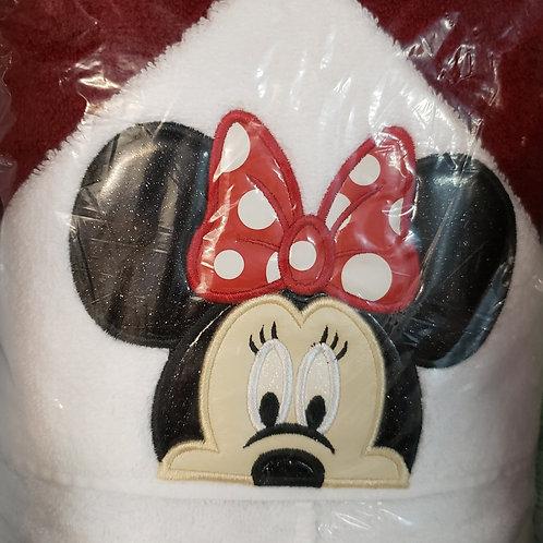 Mrs. Mouse Hooded Bath Towel