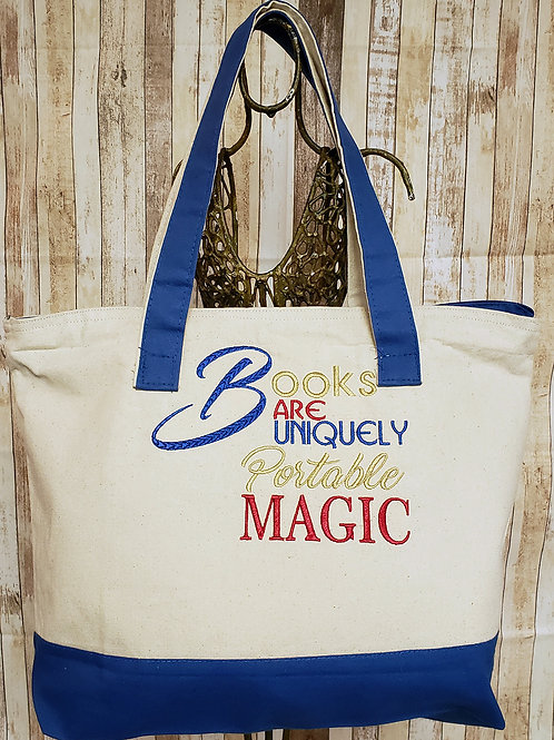Portable Magic Embroidered Tote