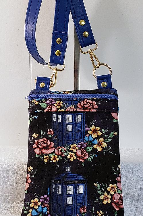Dr. Phone Booth Crossbody Bag