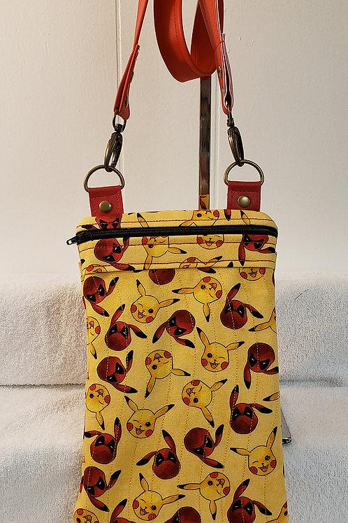 Deady Pool w/ Pokemon Crossbody Bag