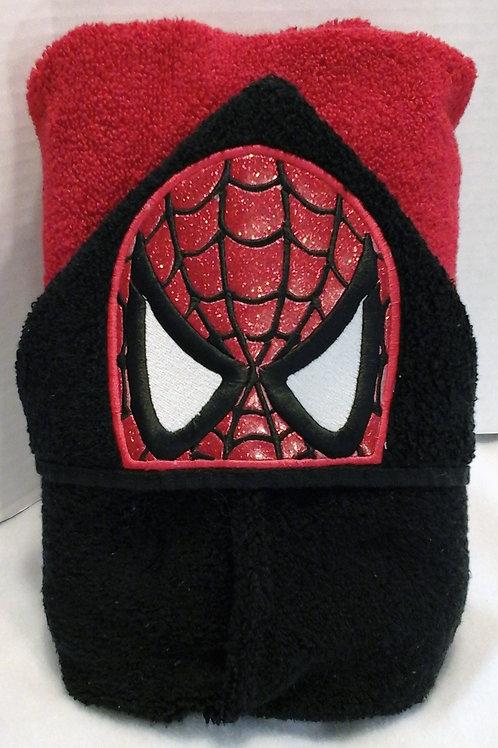 Spider Hero Hooded Bath Towel