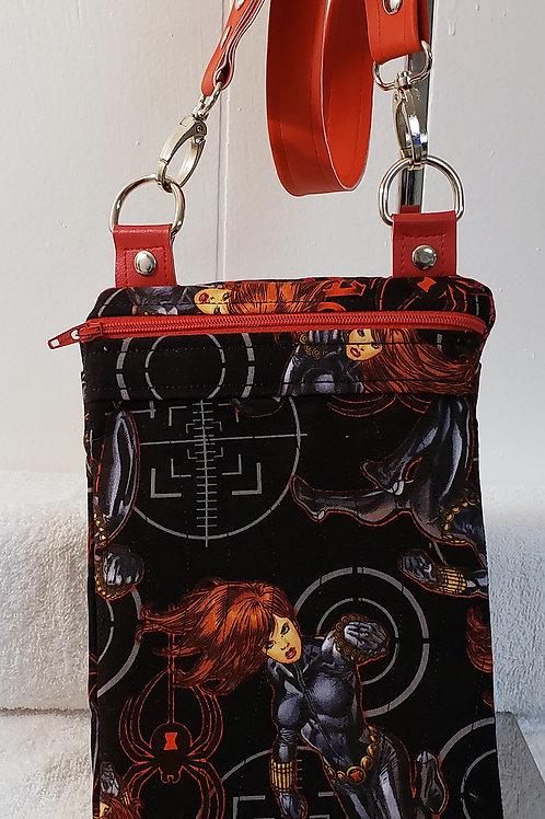Black Widow Crossbody Bag