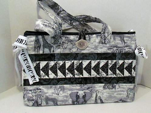 Animal Print Crafters' Bag