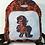Thumbnail: Cosplay Deady-pool Mini Backpack