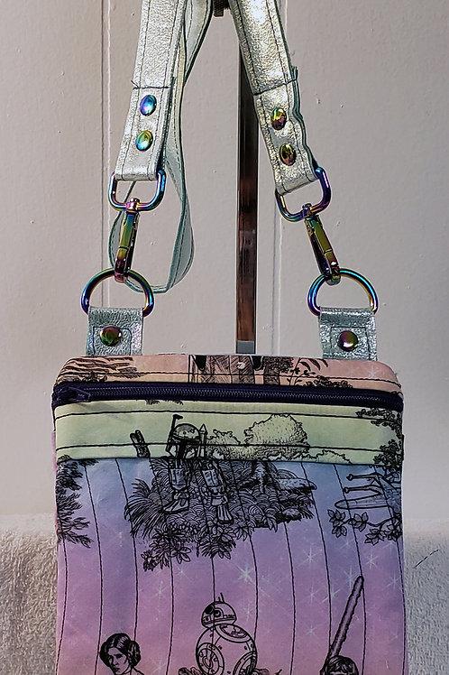 Galaxy Heroes Toile Crossbody Bag