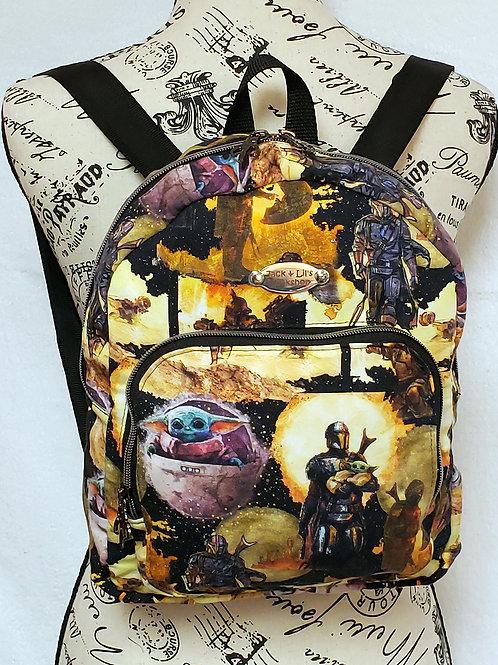 Mando & The Child Mini Backpack