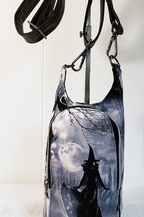 Witchy H20 2 Water Bottle Sling with Built in Wallet