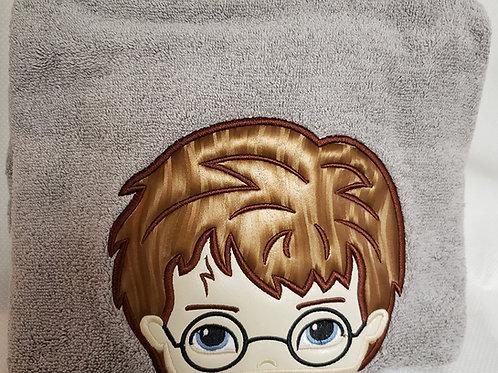 Wizard Boy Bath Towel or Bath Sheet