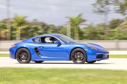 Porsche at Rally