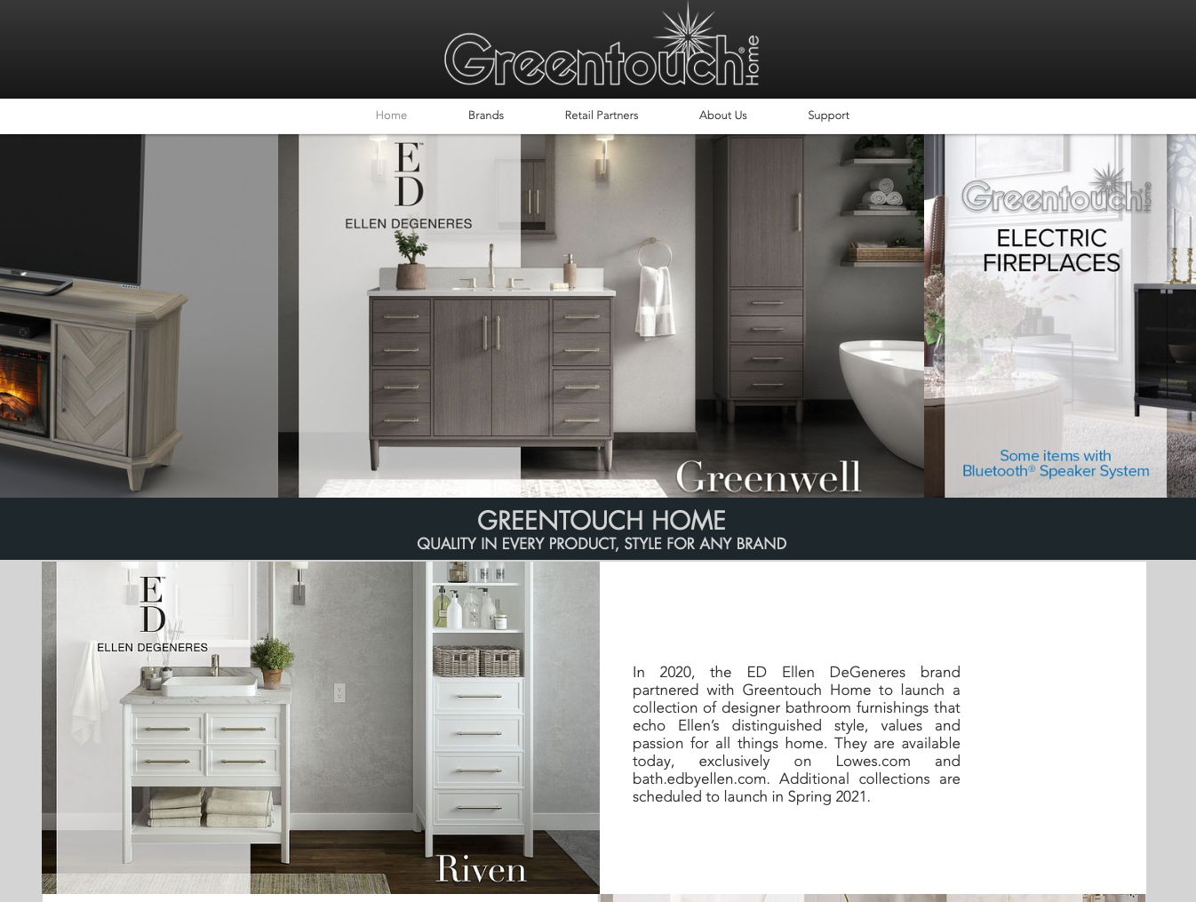 Greentouchhome.com website