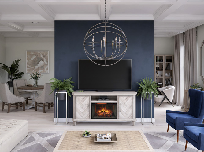 kathy ireland home electric fireplace