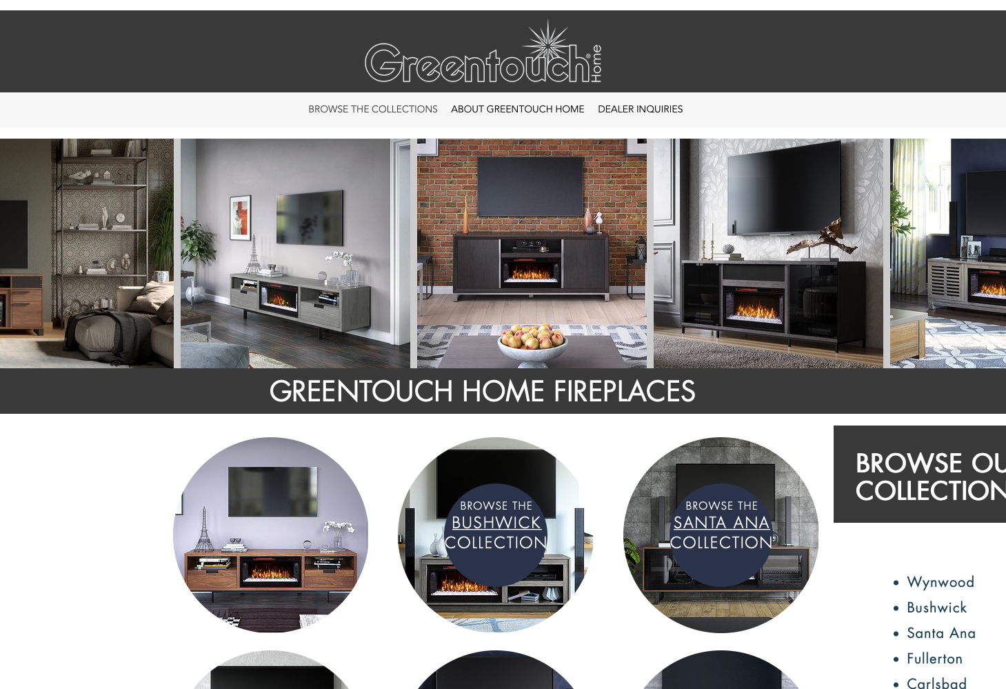 Greentouch Fireplaces