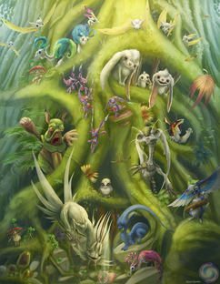 The Creature of Darkling Forest