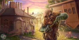 CM - Hill Dwarf at Home