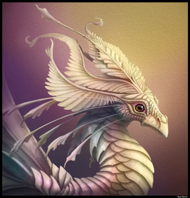 Mother of Pearl Dragon