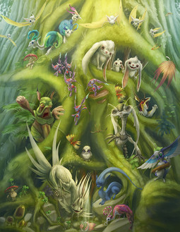 The Creatures of Darkling Forest
