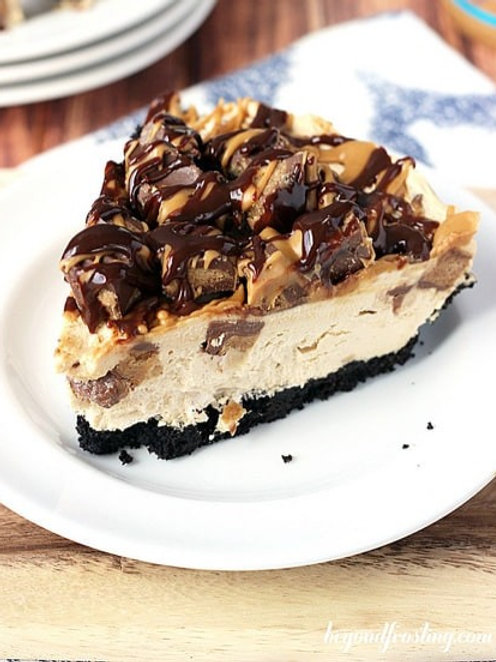 Large Reese Cup Cheesecake - Serves 12-15