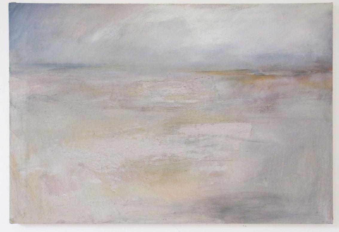 Nostalgia (Swakop Plains) 2015, ash acrylic canvas