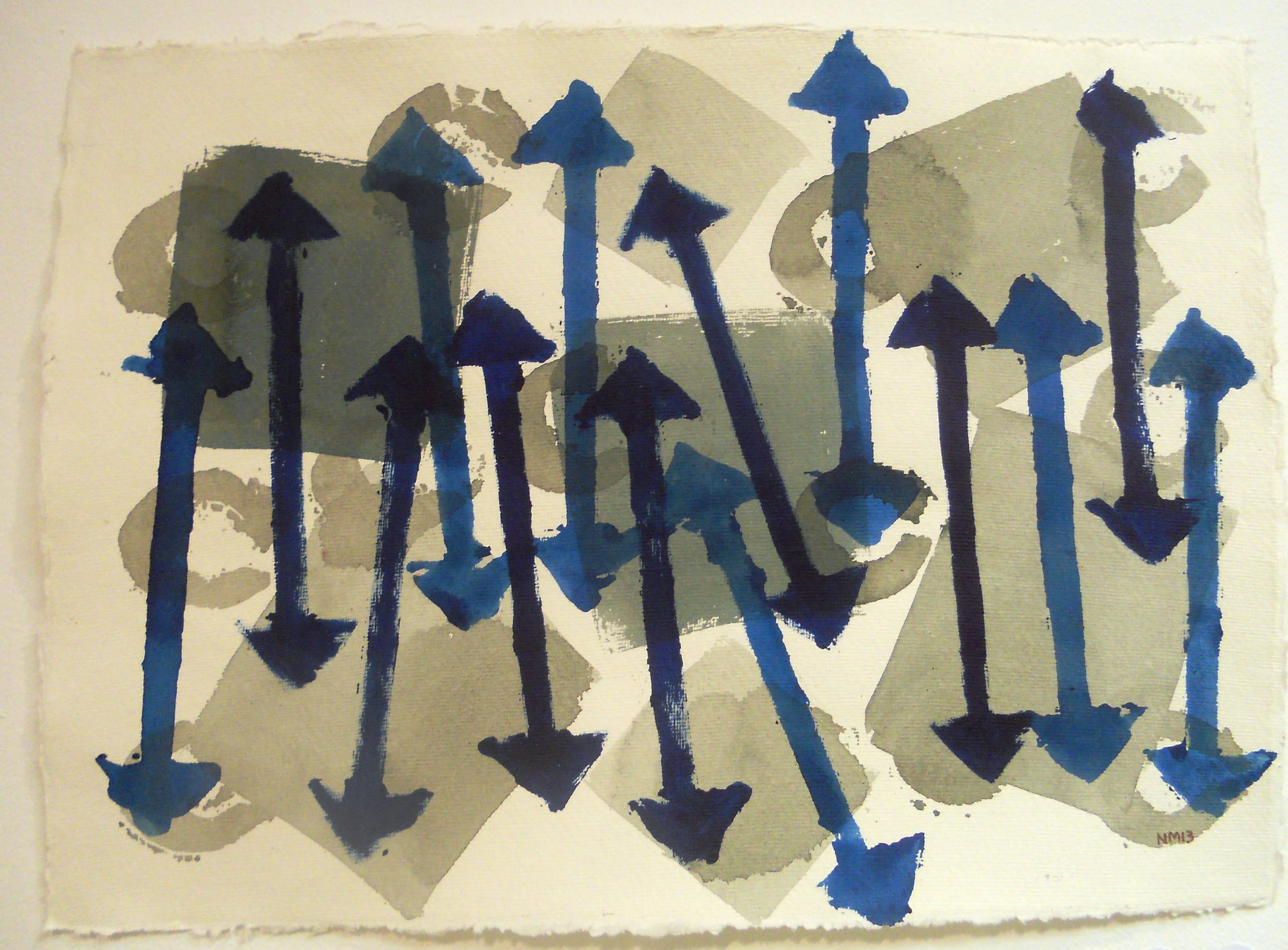 Omba Gallery exhibtion, acrylic on paper,  (5).JPG