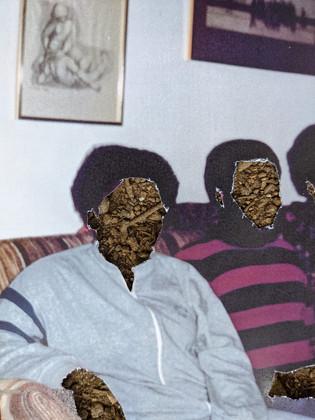 At home, 1984. Missing narratives. (detail)