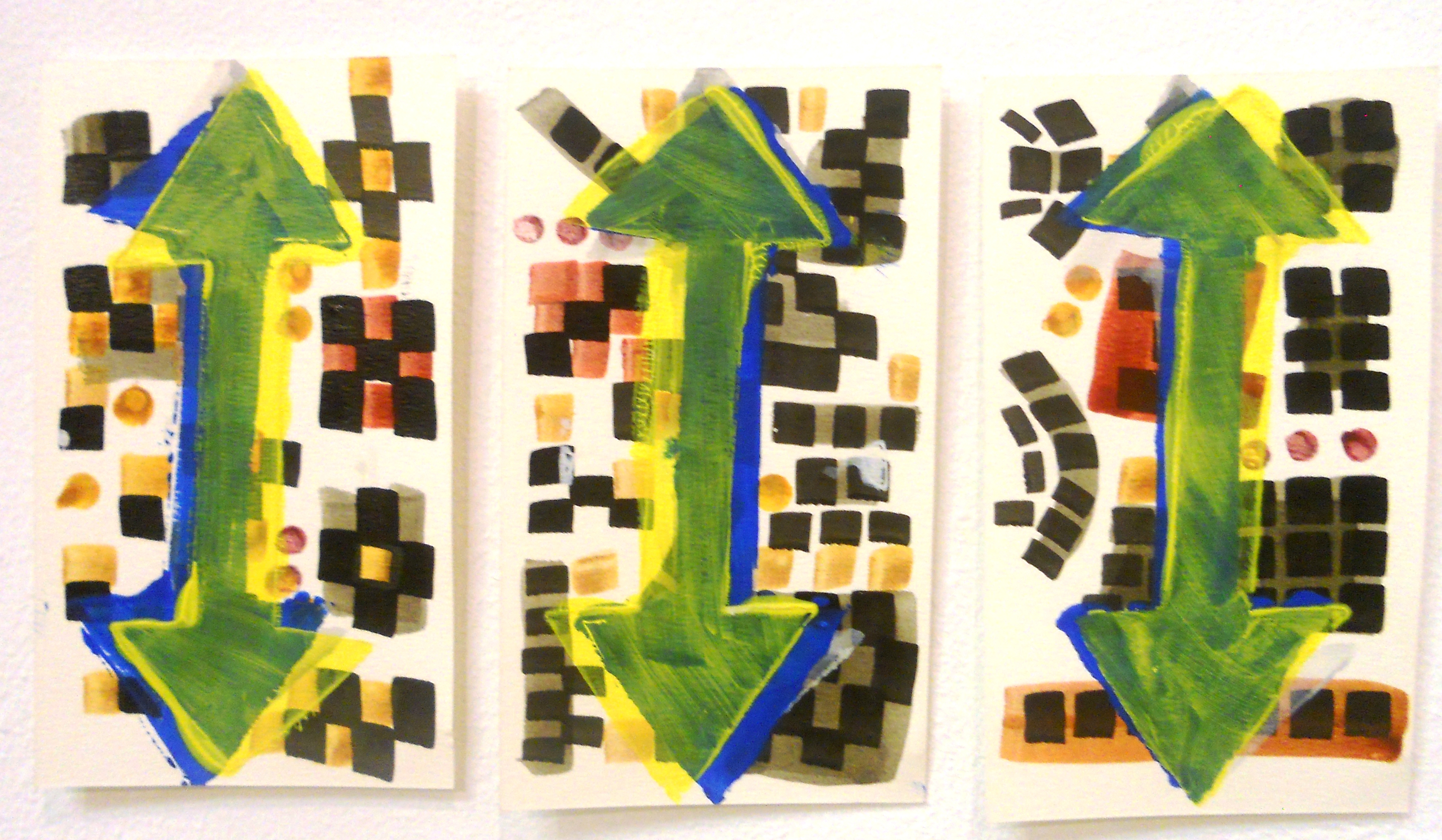 Omba Gallery exhibtion, acrylic on paper,  (2).JPG