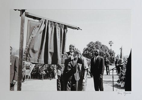 Unveiling (Nelson Mandela)