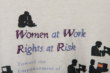 Women at work, Rights at risk (detail)