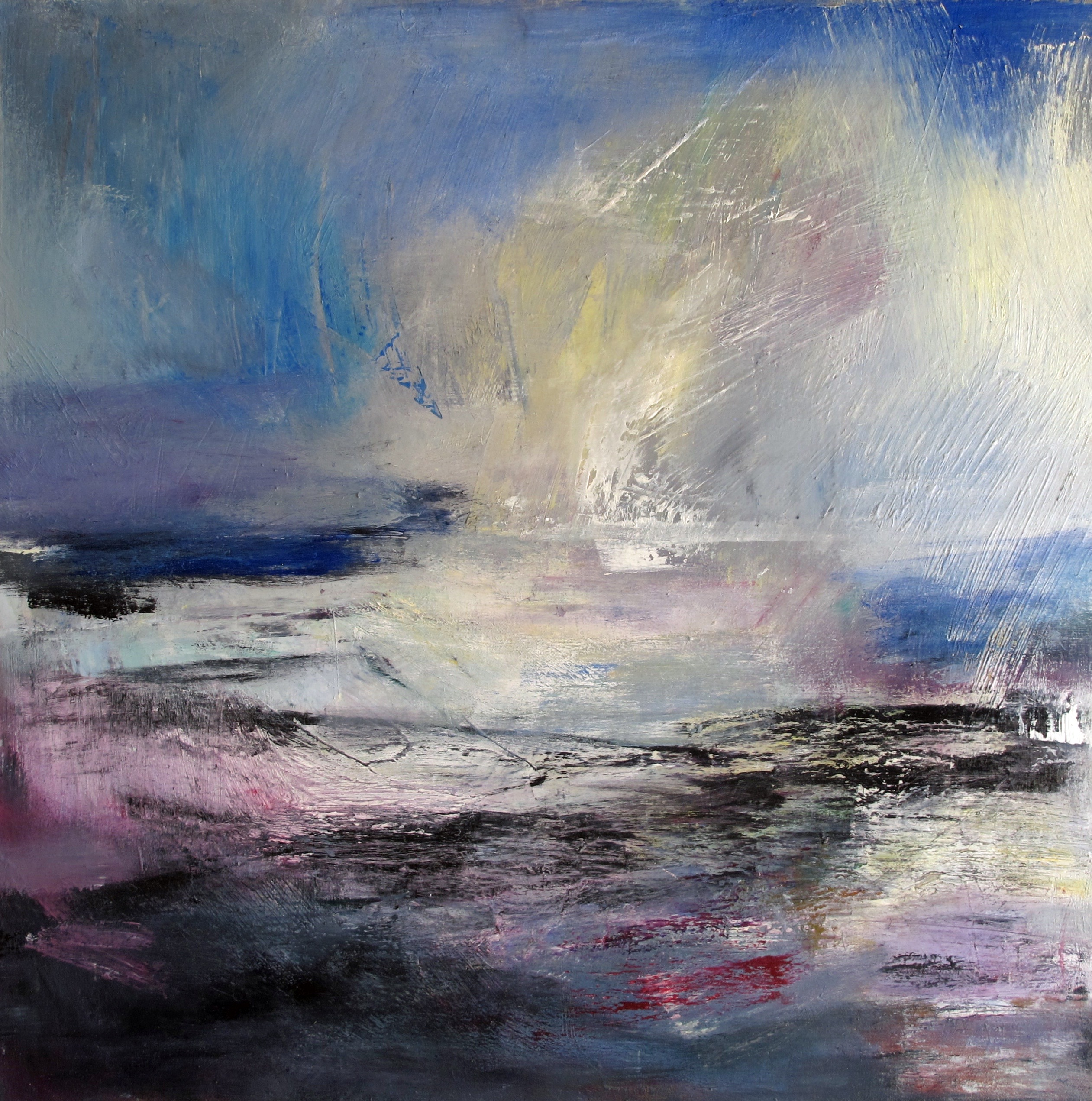 winter son (Mole) 2016 oil on canvas