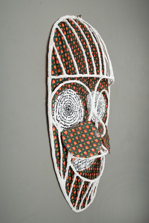 The mask of talking eyes 2