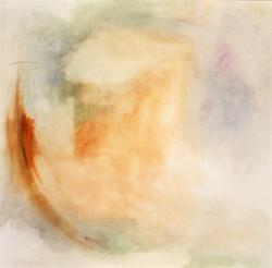 Fine Breath, 2002 oil on canvs, 110x110 cm